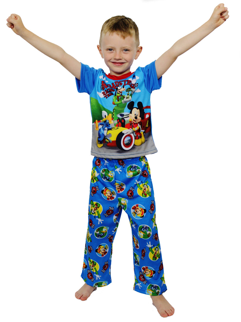 Mickey Mouse and the Roadster Racers Toddler Boys 3 piece Shorts Pajamas Set