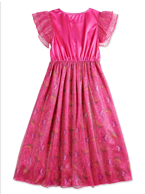 Fancy Nancy Girl's Dress Up Fantasy Nightgown Pajamas