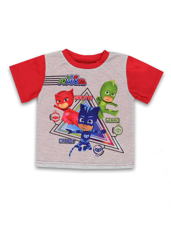 PJ Masks Toddler Boys 2 piece Short Sleeves Pants Pajamas Set