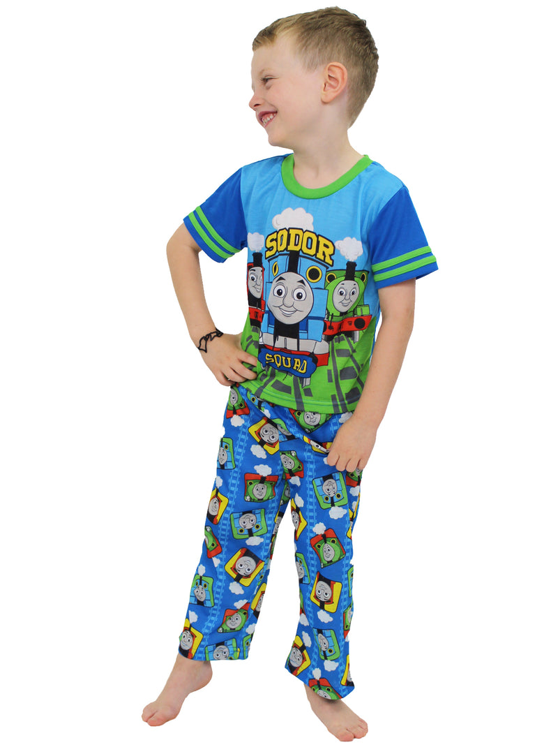 Thomas the Train & Friends Toddler Boys 3 piece Shorts Pajamas Set