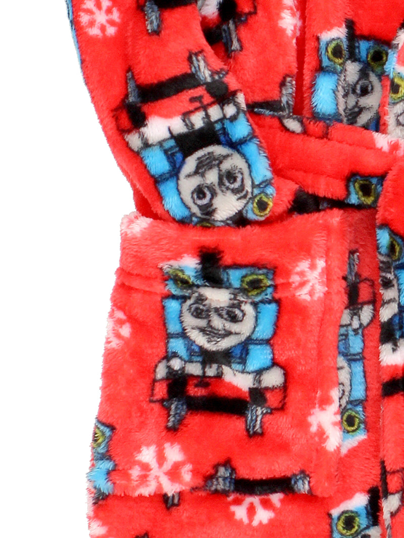 Thomas and Friends Toddler Boys Plush Fleece Bathrobe