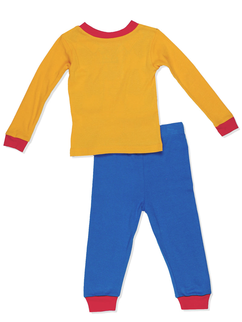 Toy Story Woody Toddler Boys Costume Style Pajamas Set