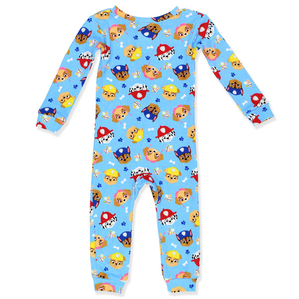 Paw Patrol Toddler Boy's Cotton Sleeper Pajamas