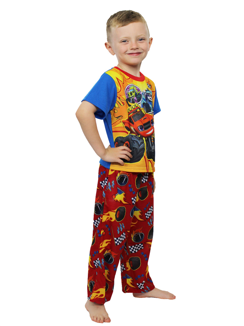 Blaze and the Monster Machines Toddler Boys 3 piece Shorts Pajamas Set