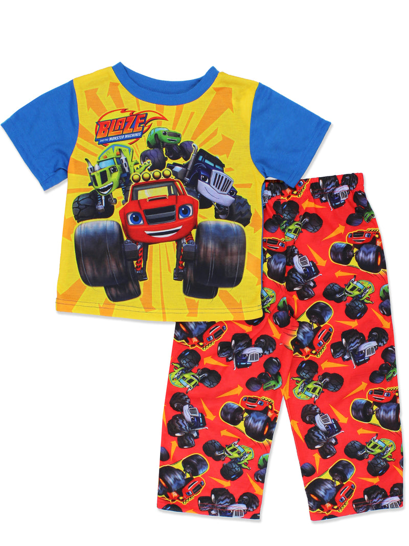 Blaze and the Monster Machines Toddler Boys 2 piece Pajamas Set