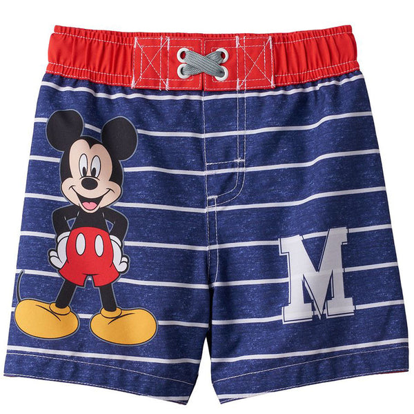 Mickey Mouse Toddler Boys Swim Trunks Swimwear