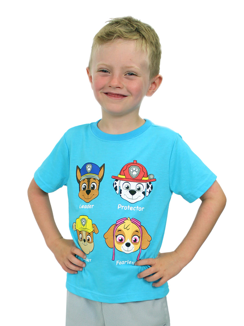 Paw Patrol Boys Girls Toddler Short Sleeve Tee T-Shirt