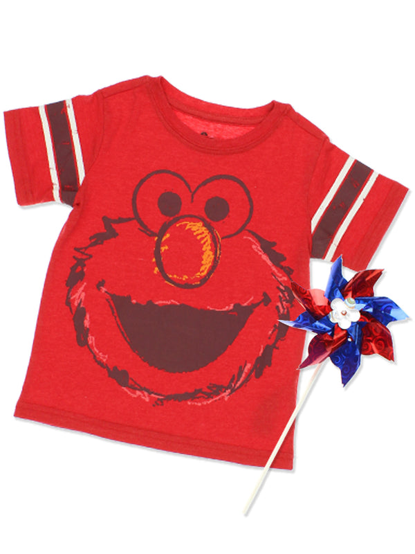 Sesame Street Elmo Baby Toddler Boys Short Sleeve T-Shirt