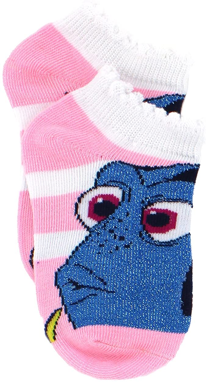 Finding Dory Nemo Girls 5 pack Socks (Toddler/Little Kid/Big Kid)