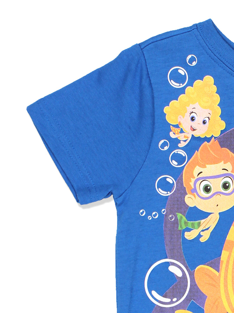 Bubble Guppies Toddler Boys Short Sleeve Tee
