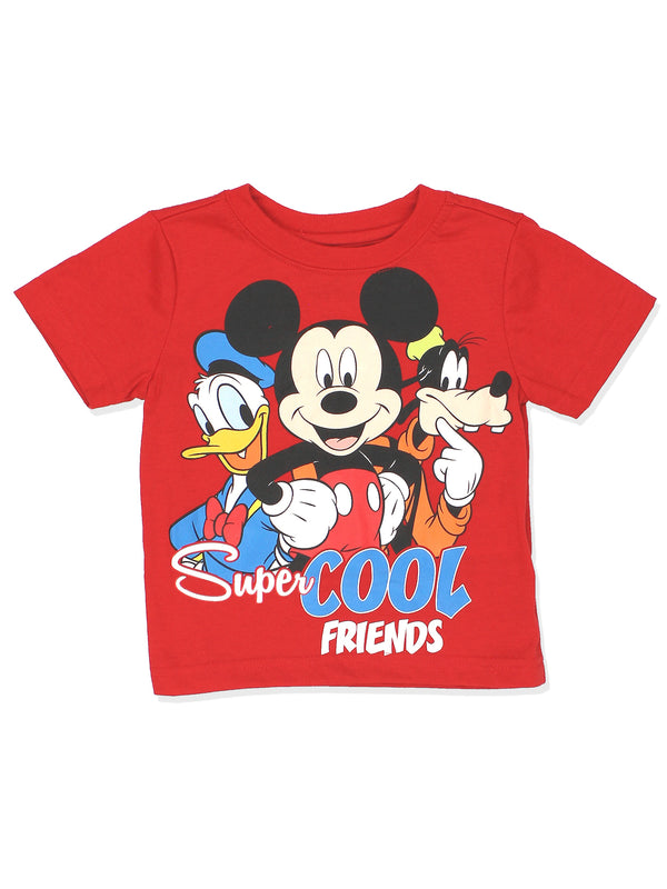 Mickey Mouse Clubhouse Boys Short Sleeve Tee (Baby/Toddler)