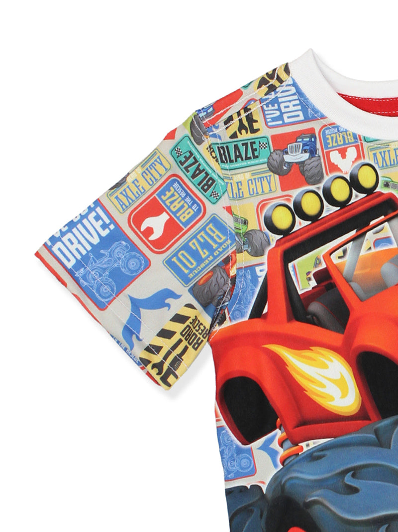 Blaze and the Monster Machines Boys Tee (Toddler/Little Kid/Big Kid)