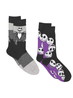 The Nightmare Before Christmas Men's 2 pack Socks Set