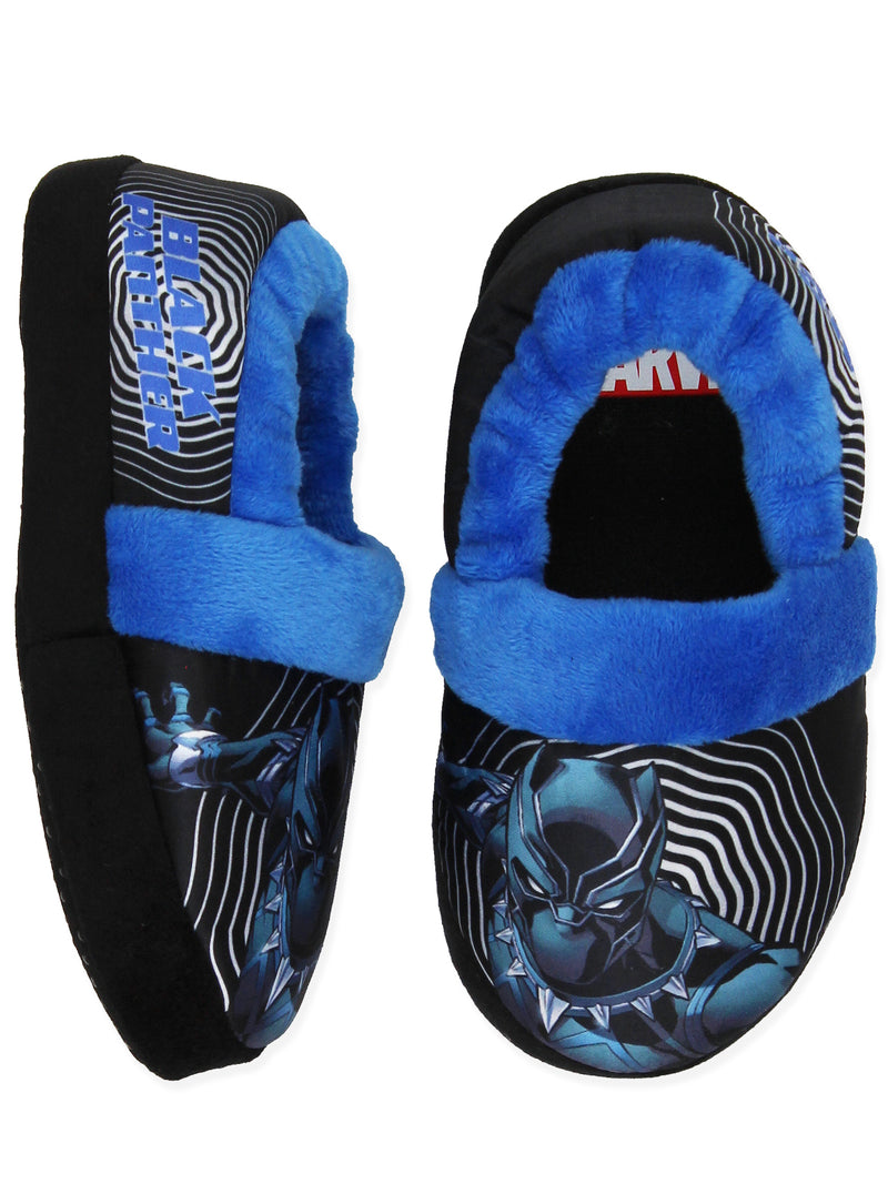 Avengers Black Panther Toddler Boy's Plush Aline Slippers