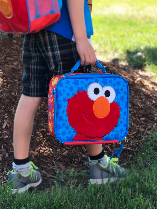 Sesame Street Elmo Toddler Boys Soft Insulated Lunch Box