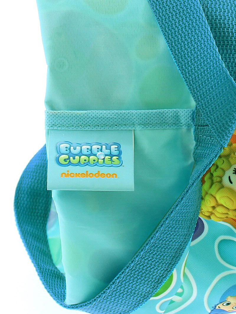 Bubble Guppies Boys Girls Collapsible Nylon Gift Basket Bucket Toy Storage Tote Bag