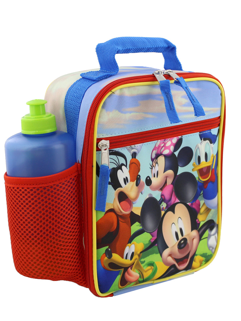 Disney Mickey Mouse Boys Girls Toddler Soft Insulated School Lunch Box