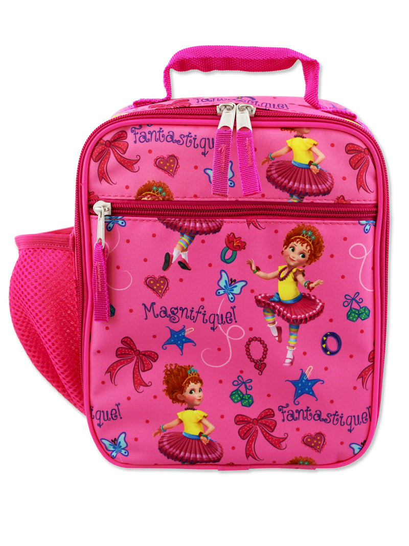 Fancy Nancy Girls Soft Insulated School Lunch Box