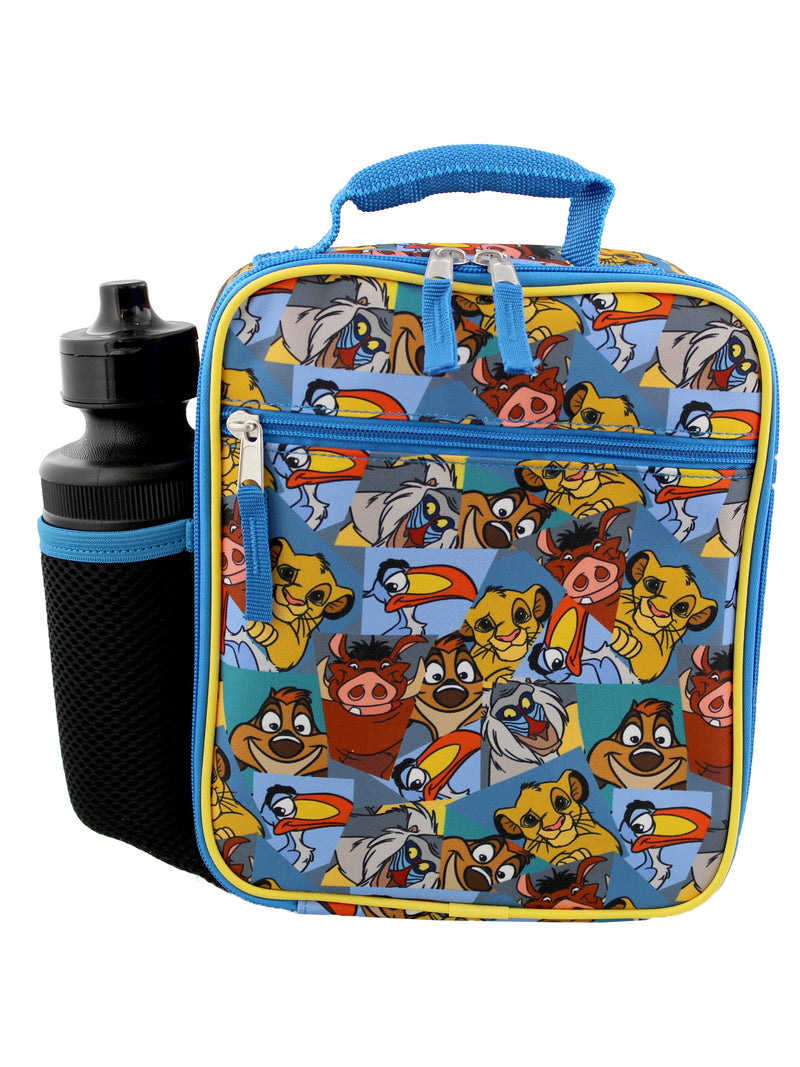 The Lion King Boy's Girl's Soft Insulated School Lunch Box