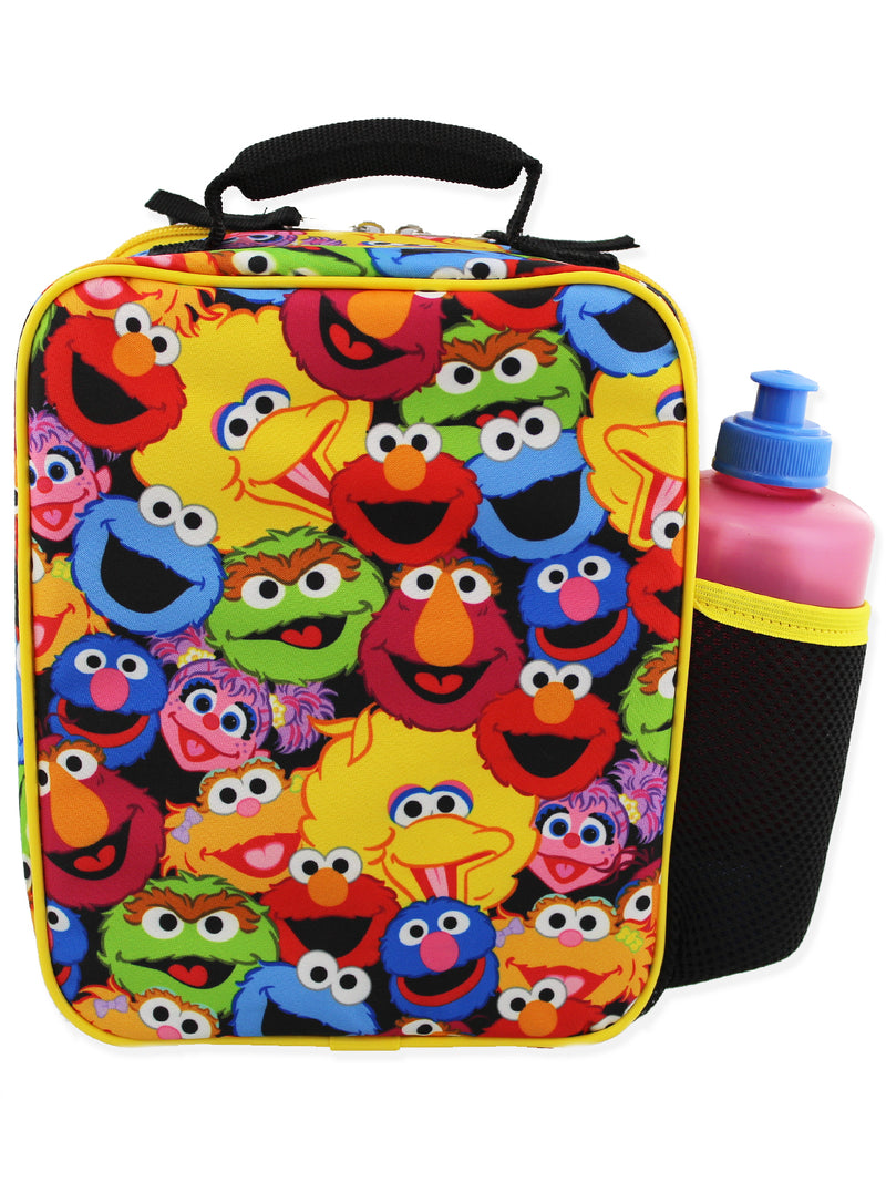 Sesame Street Elmo Boys Girls Soft Insulated School Lunch Box