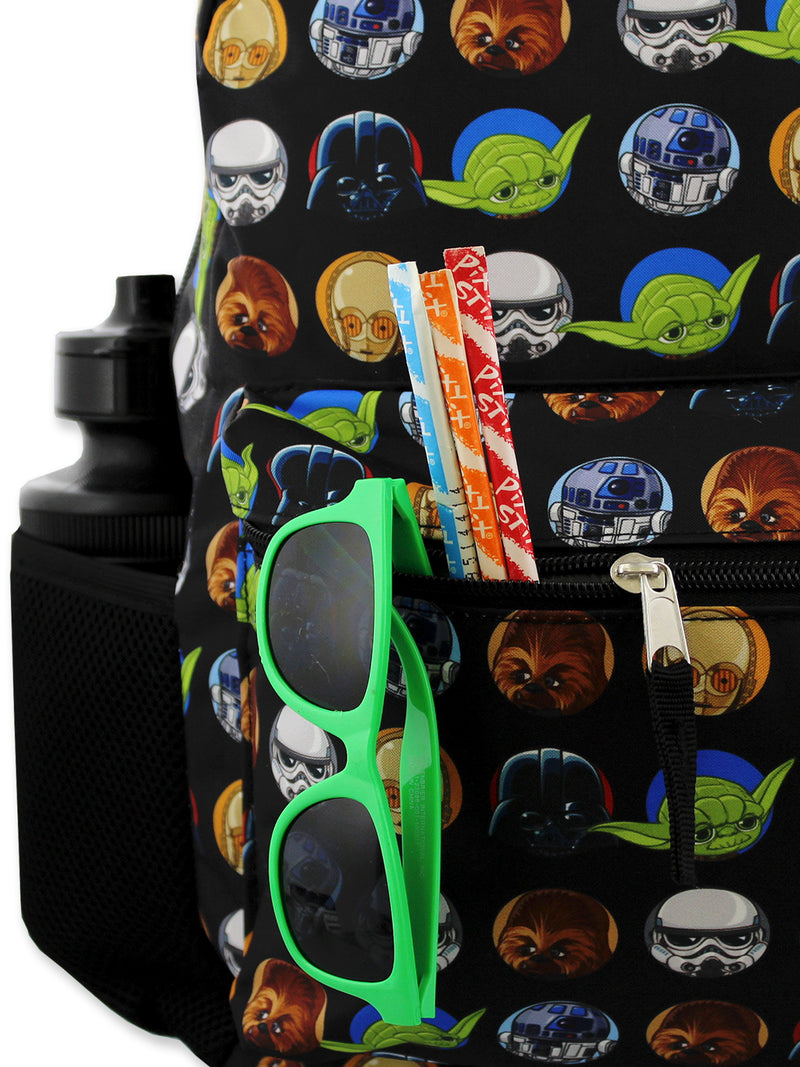 Star Wars Boy's Girl's Adult's 16 Inch School Backpack