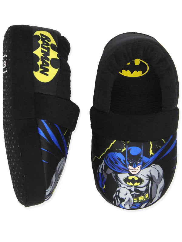 Batman Superhero Boy's Toddler Plush Aline Slippers