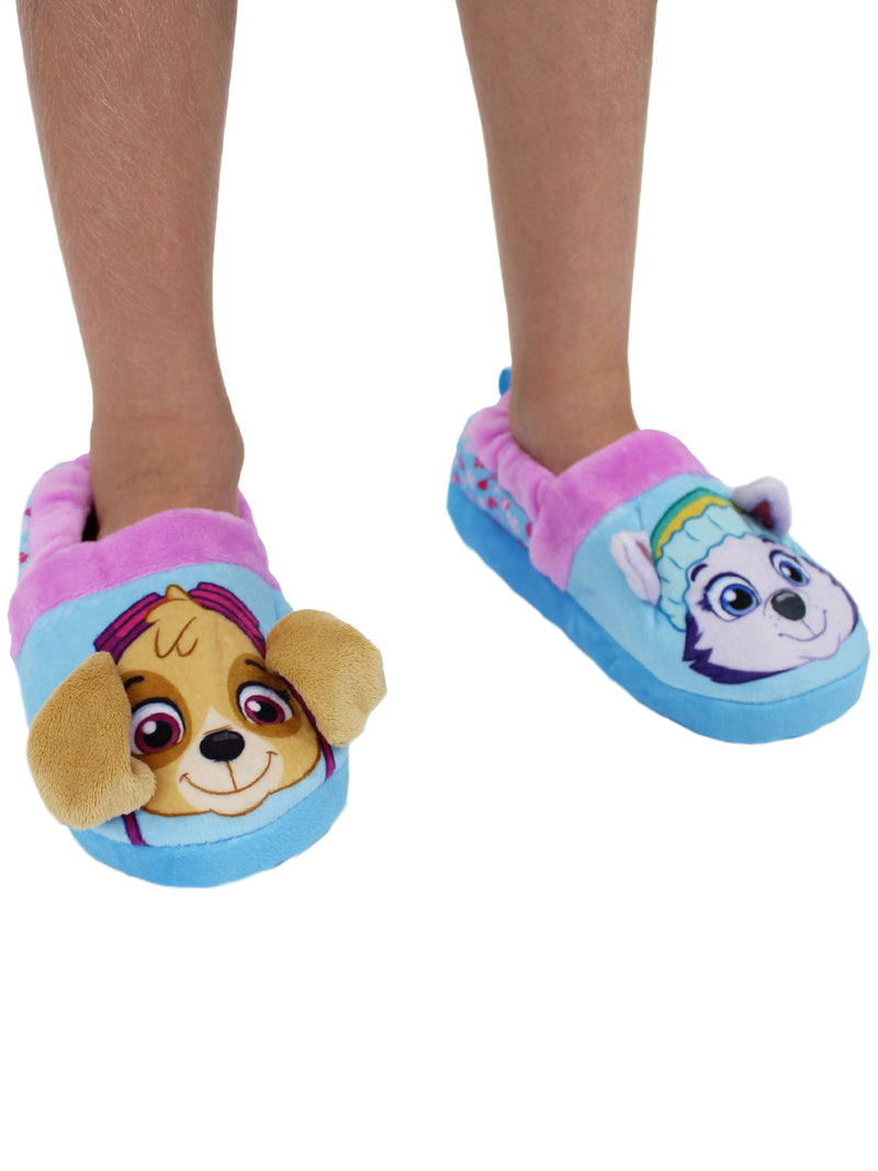 Paw Patrol Skye Everest Toddler Girls Plush Aline Slippers