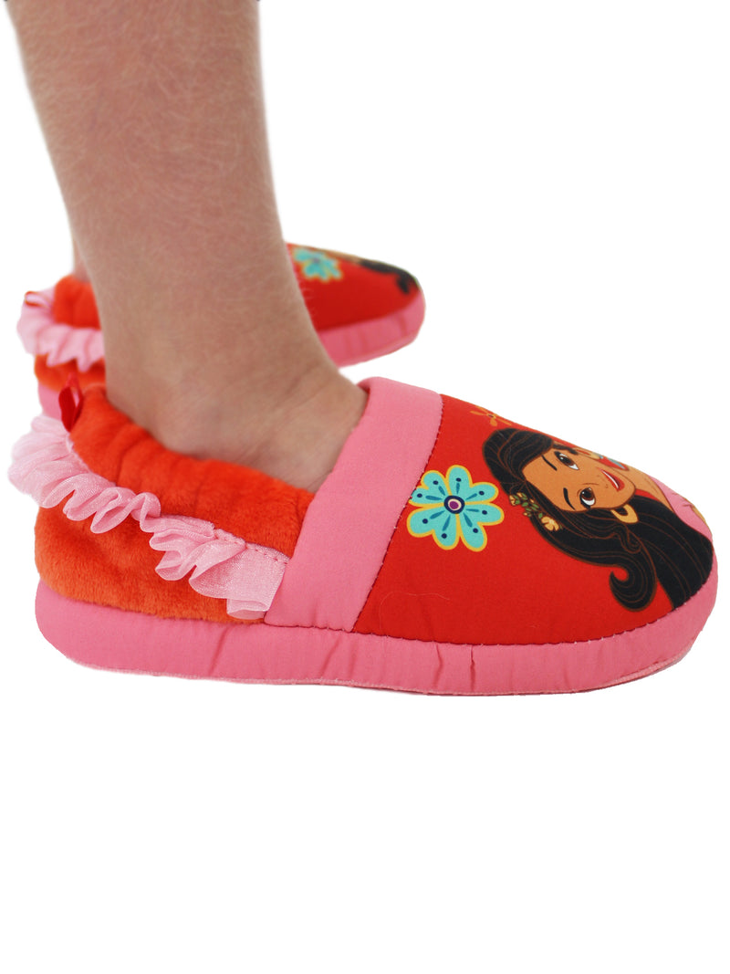 Elena of Avalor Toddler Girls Plush Aline Slippers