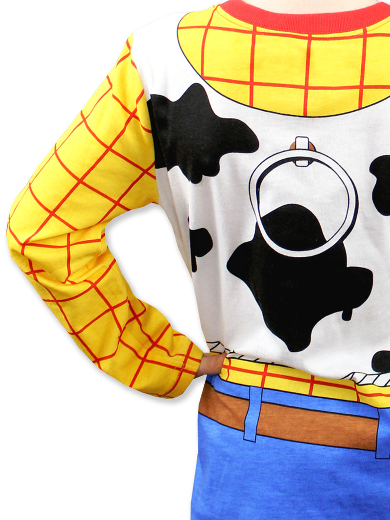 Toy Story 4 Sheriff Woody Boys Girls Baby Toddler Long Sleeve T-Shirt Tee