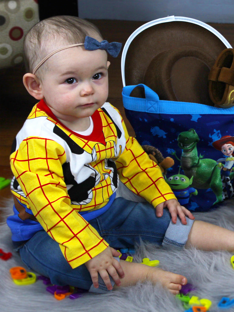 Toy Story 4 Woody Boys Girls Baby Toddler Long Sleeve T-Shirt Tee CPTB402