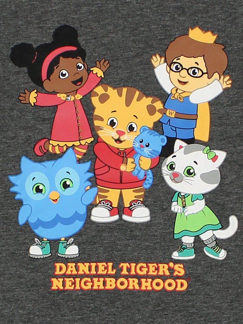 Daniel Tiger's Neighborhood Toddler Boys Short Sleeve Tee