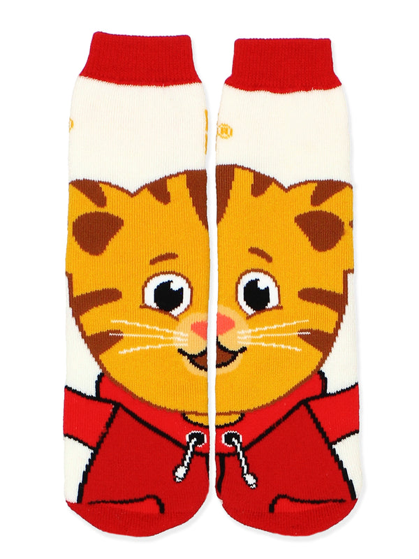 Daniel Tiger Toddler Boys Girls 2 pack Slipper Socks with Grippers