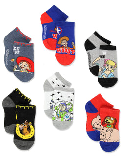Disney Toy Story 4 Toddler Boy's Girl's 6 pack Sock Set