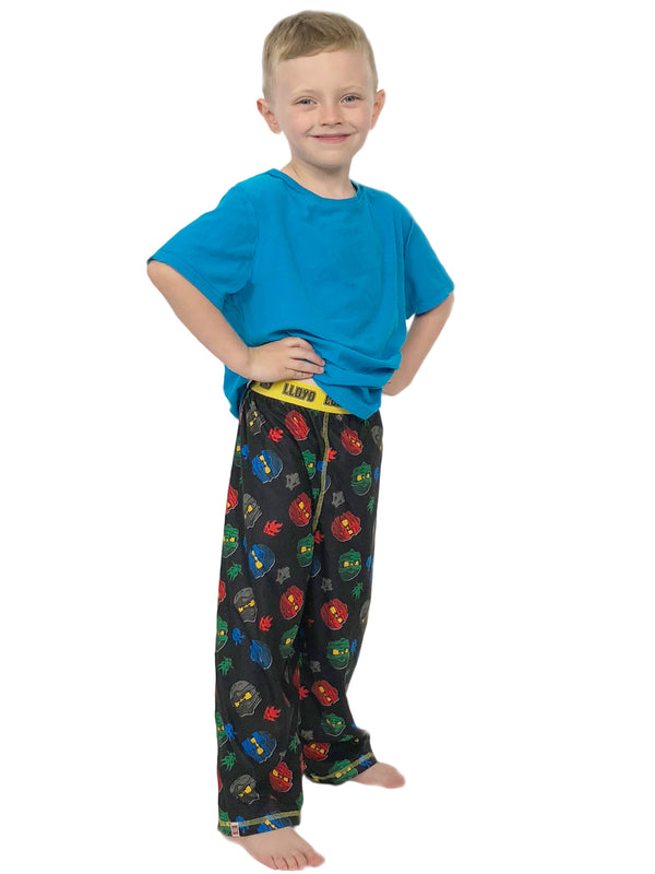 Lego Ninjago Boys Flannel Lounge Pajama Pants