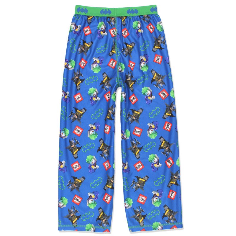Lego Batman Boys Flannel Lounge Pajama Pants