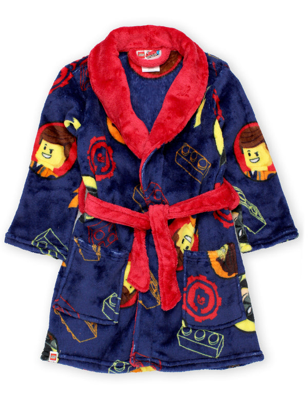 Lego Movie 2 The Second Part Boys Fleece Bathrobe Robe