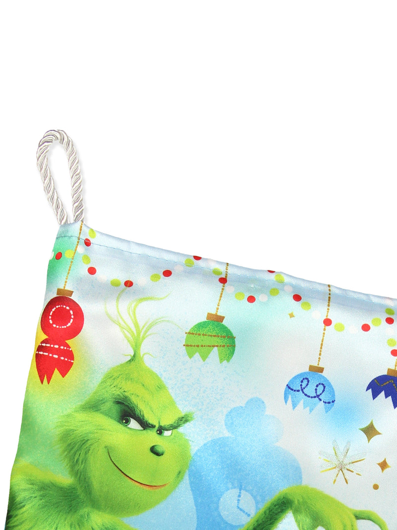 "Kurt Adler Dr Seuss How the Grinch Stole Christmas 19"" Holiday Stocking"