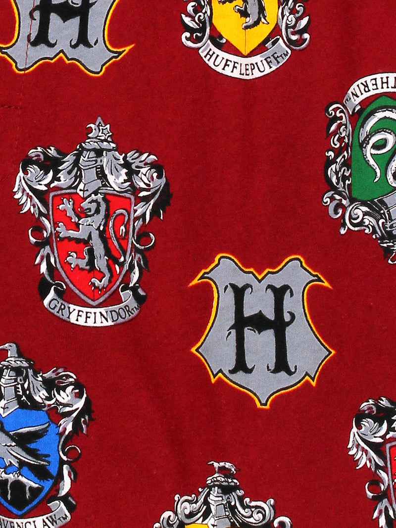 Harry Potter Hogwarts Houses Men's Briefly Stated Boxer Shorts Underwear