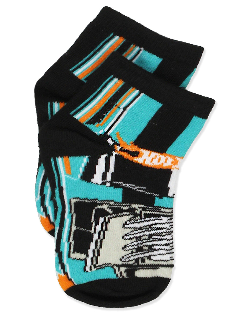 Hot Wheels Cars Toddler Boys 6 pack Socks Set