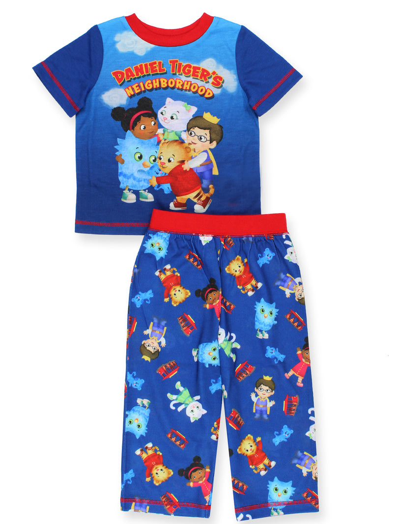 Daniel Tiger's Neighborhood Toddler Boys Short Sleeve Pajamas Set