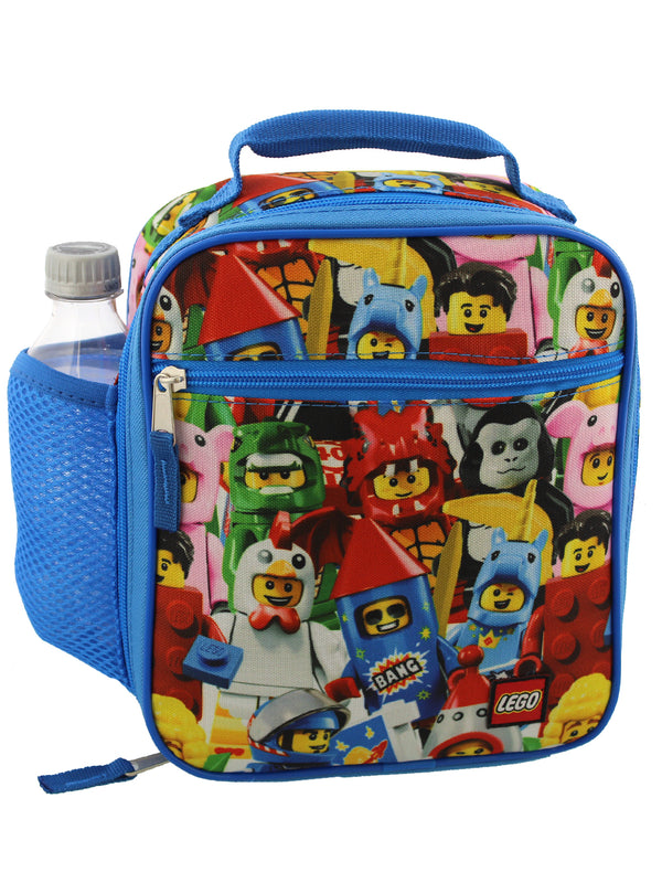 Lego Boys Girls Adults Soft Insulated School Lunch Box