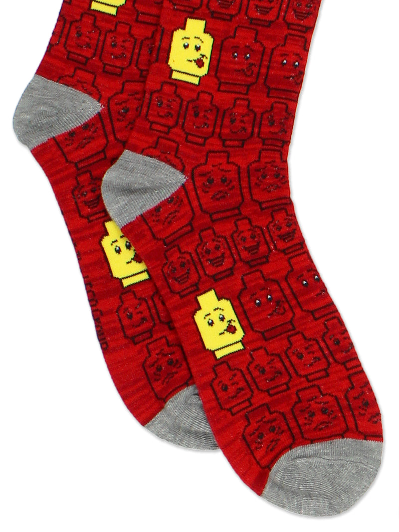 Lego Kids Teen Womens Mens 3 pack Crew Sock Set