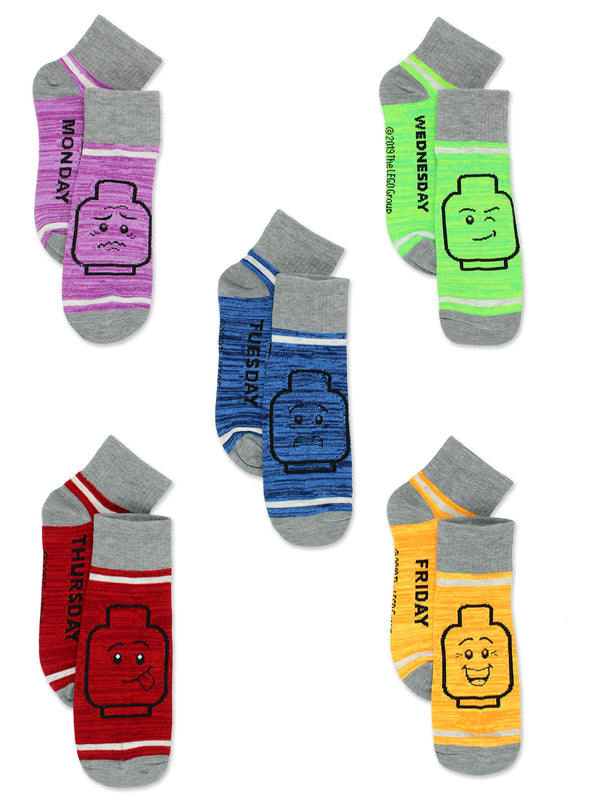 Lego Toddler Kids Teens Adults Multi Pack Sock Set