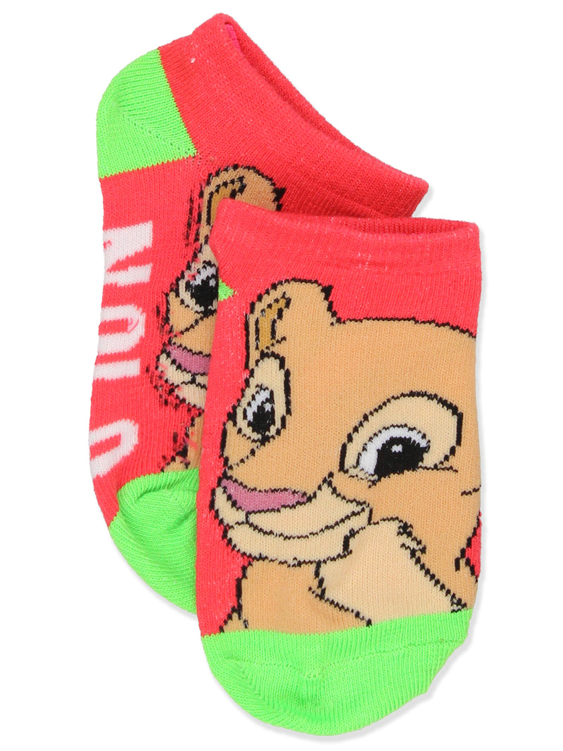 The Lion King Boy's Girl's Toddler Teen Adult's 6 pack Socks Set