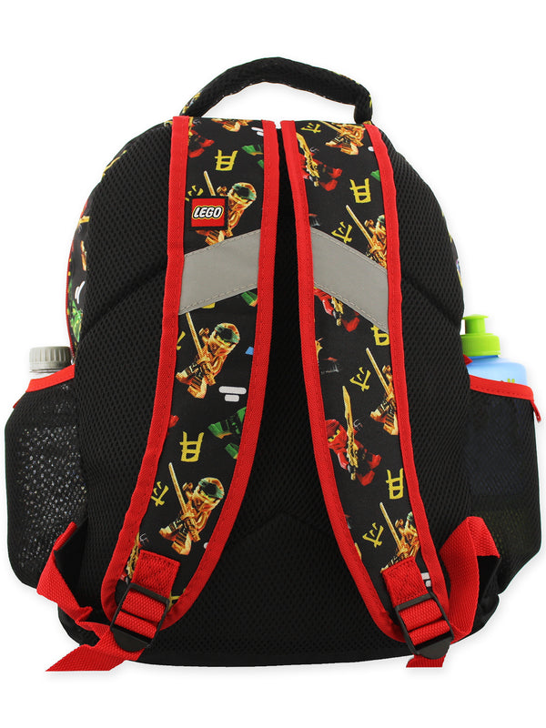 Lego Ninjago Masters of Spinjitzu Boys 16 Inch School Backpack