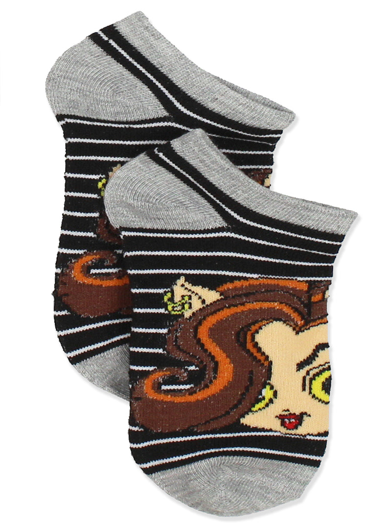 Monster High Girls 6 pack Socks Set
