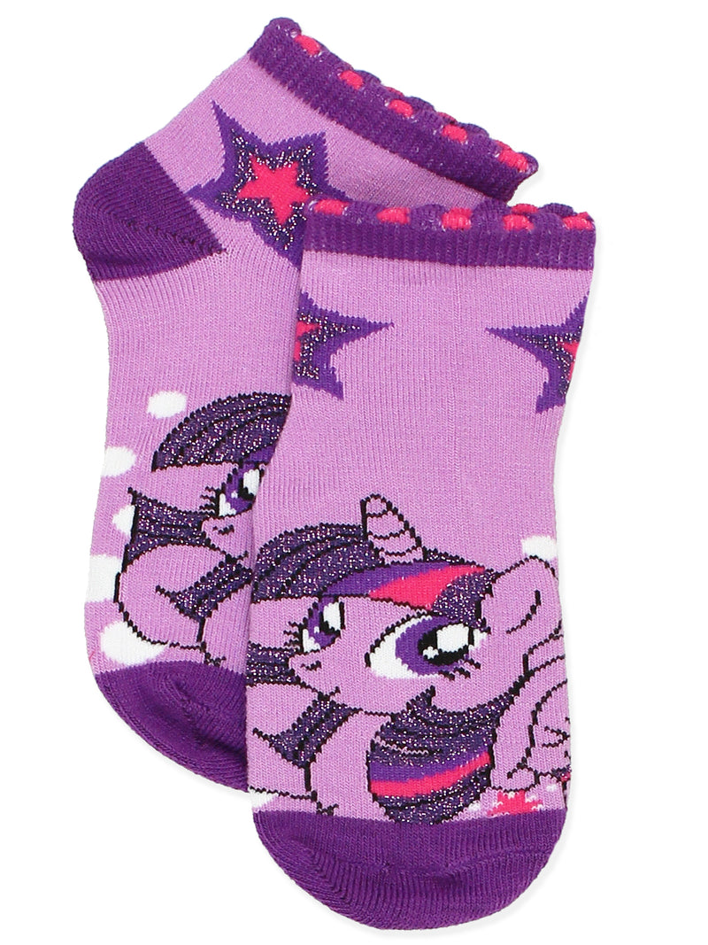 My Little Pony Girls Toddler 6 pack Socks Set