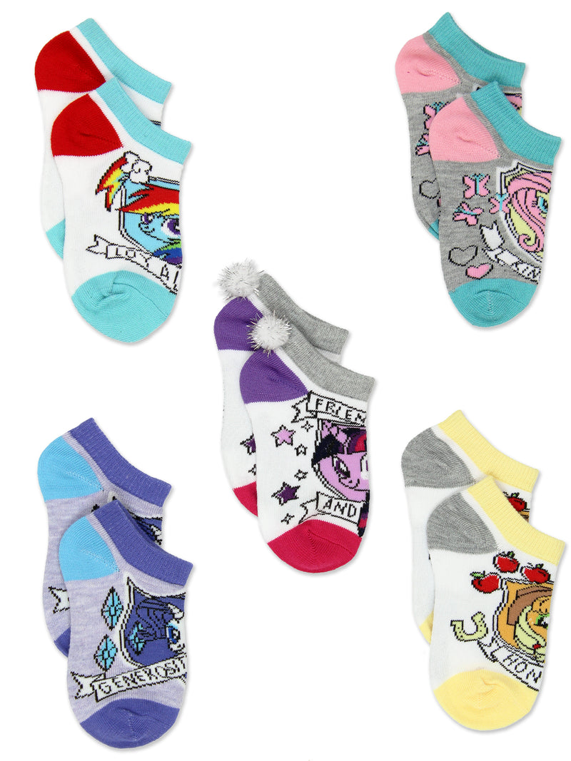 My Little Pony MLP Girls Multi Pack Socks Set