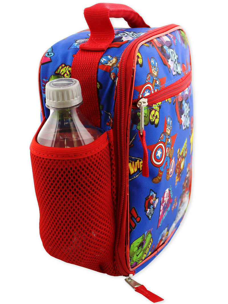 Marvel Super Hero Adventures Avengers Boys Soft Insulated School Lunch Box