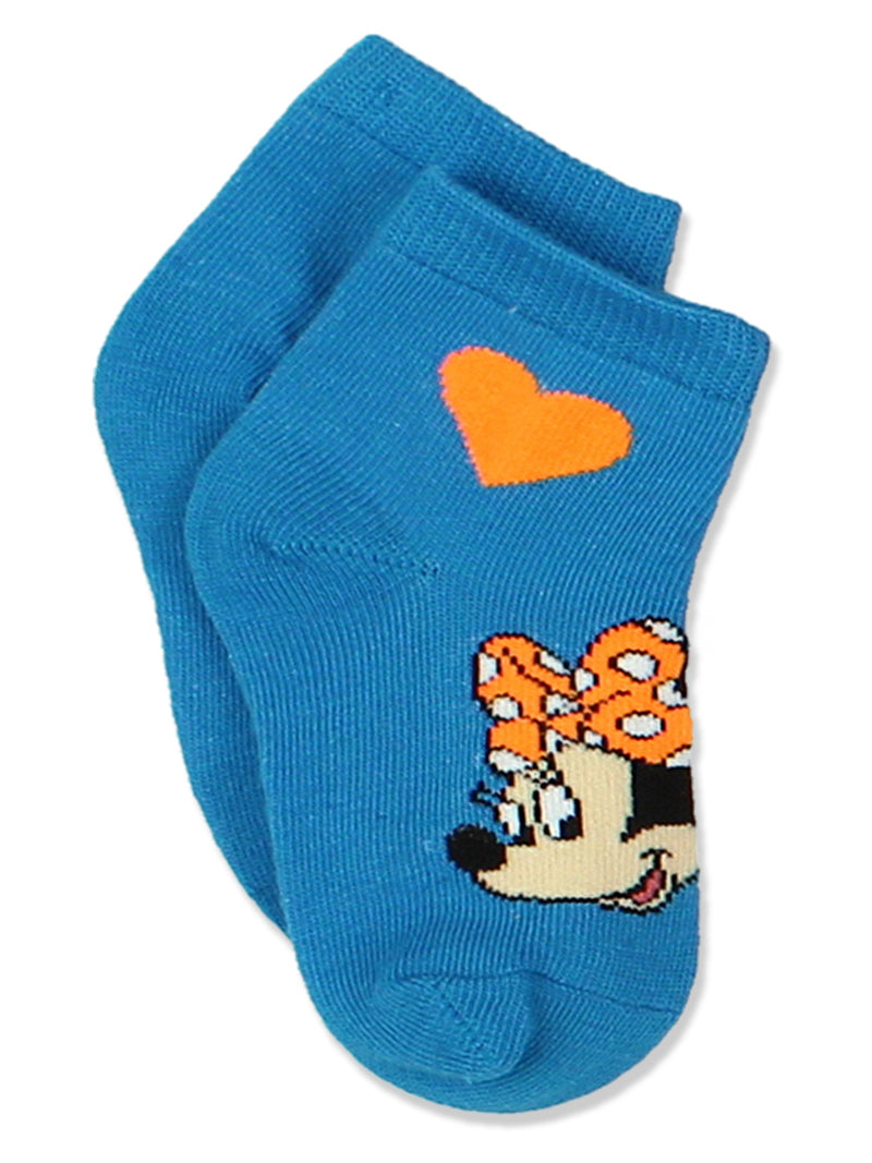 Minnie Mouse Toddler Girls 6 pack Socks Set